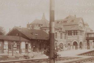 Station Woerden in 1913