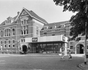Station Woerden rond 1975