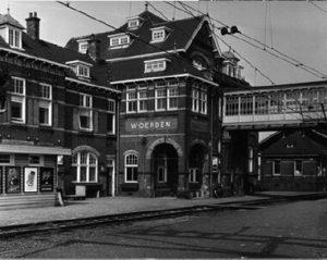 Station Woerden in 1966