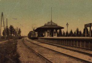 Station Harmelen rond 1900